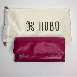Hobo International pink trifold wallet NEW